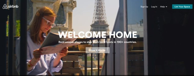 AirBnb appeals to your emotions.