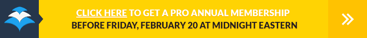 Click Here to Get a Pro Annual Membership