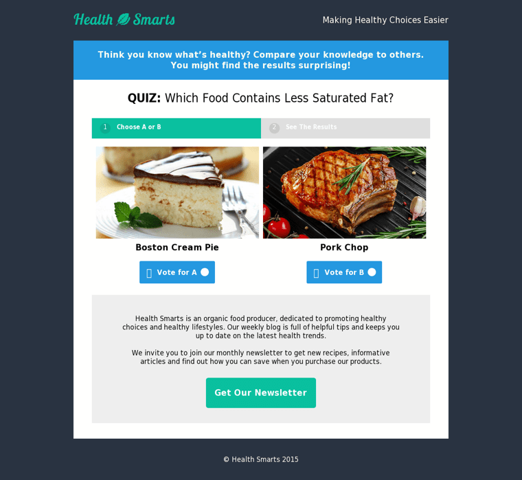Opt-In Template Web
