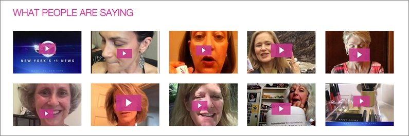 Video reviews from happy customers on the BOOM! by Cindy Joseph site