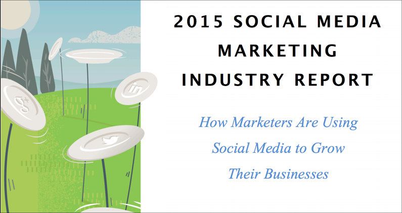 The cover of Social Media Examiner's massively successful annual report