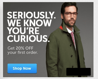 Clothes Creepy Retargeted Ad