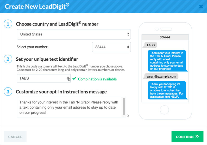 LeadDigit Screenshot
