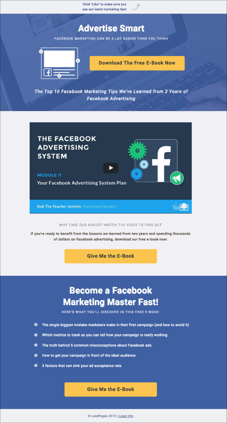 to Create Custom Facebook Tabs That Capture Leads