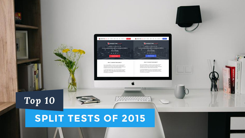 Top 10 A/B Tests of 2015