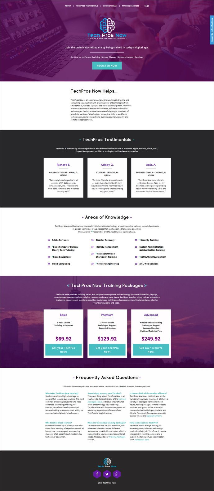 Landing page roundup our top 10 favorite pages from january and what stands out tech pros now uses one of our newest templatesthe event series landing pageto spectacular effect its a beautiful example of choosing a pronofoot35fo Choice Image