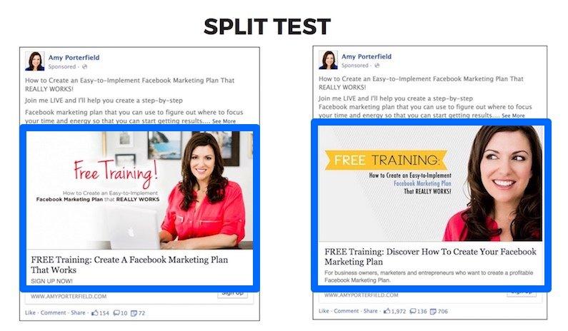 Amy P Split Test