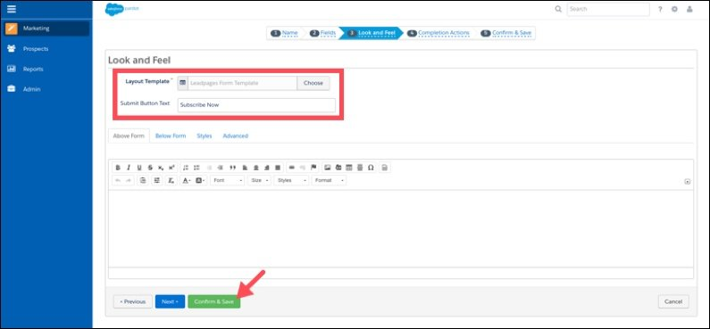 How to customize your button text in Pardot