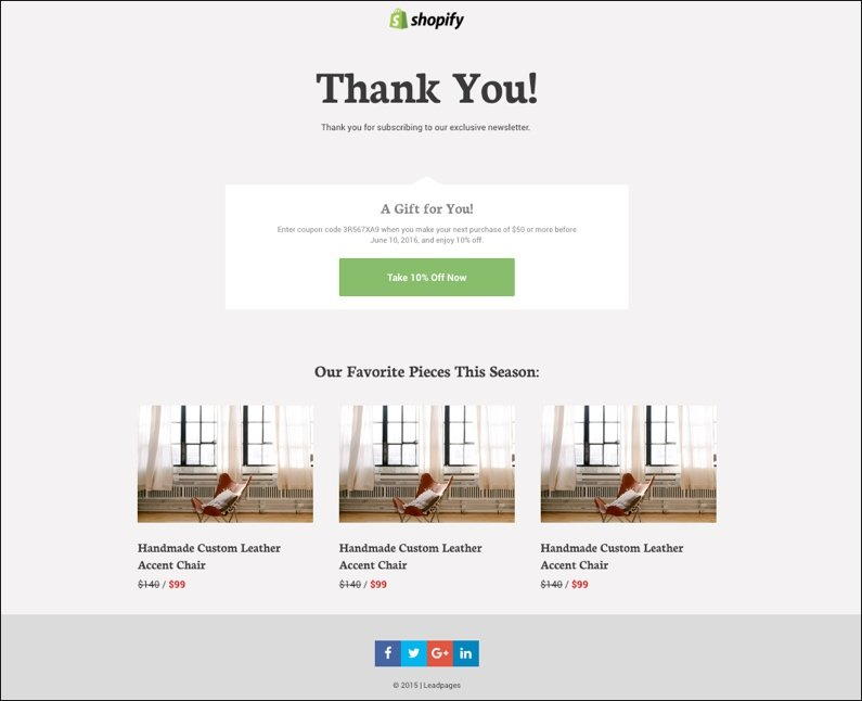 Shopify Leadpages Use Them Together With New Templates - Shopify design templates