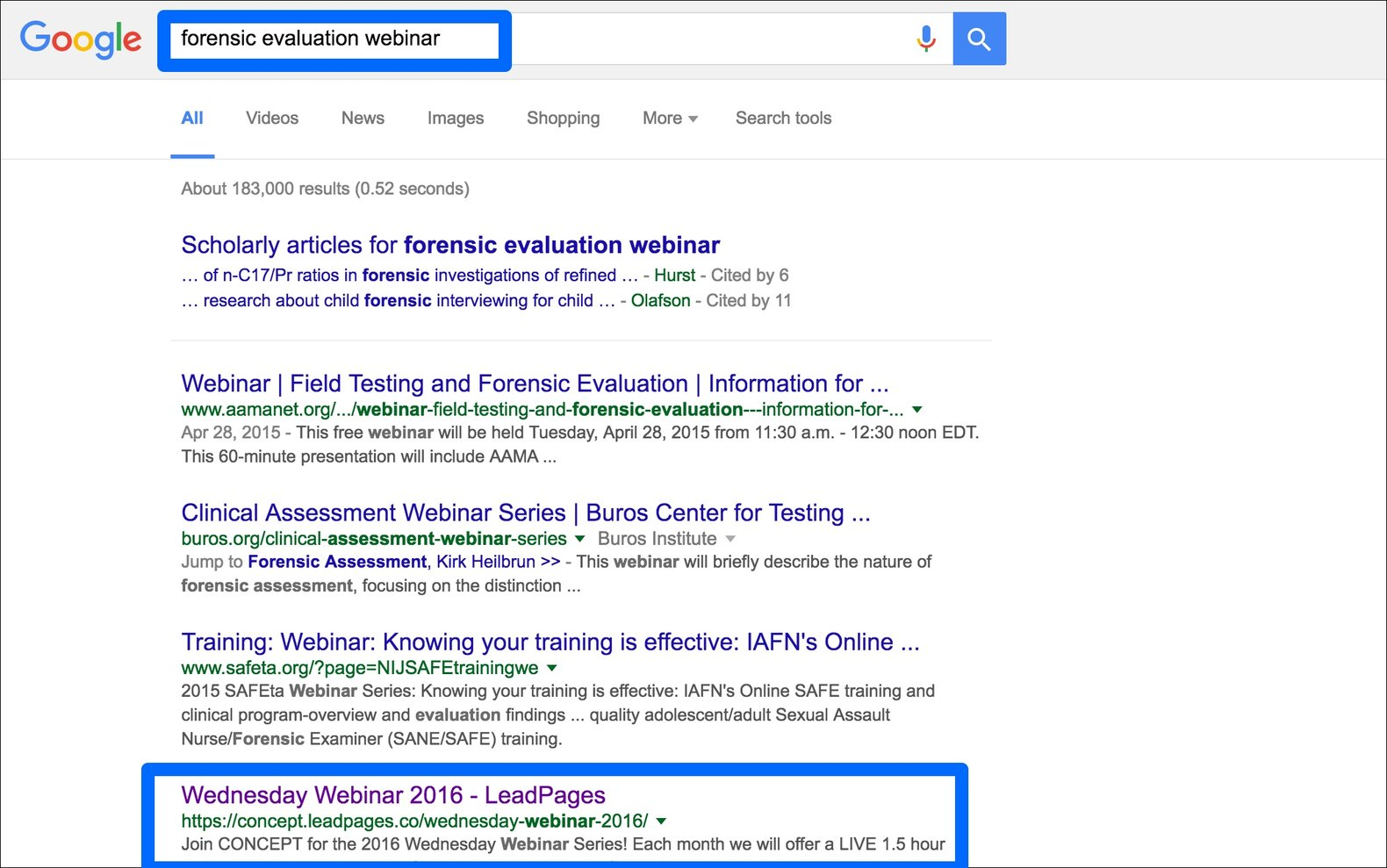 One caveat: this page would likely benefit the SEO of the company's site more if it were published to their main domain.