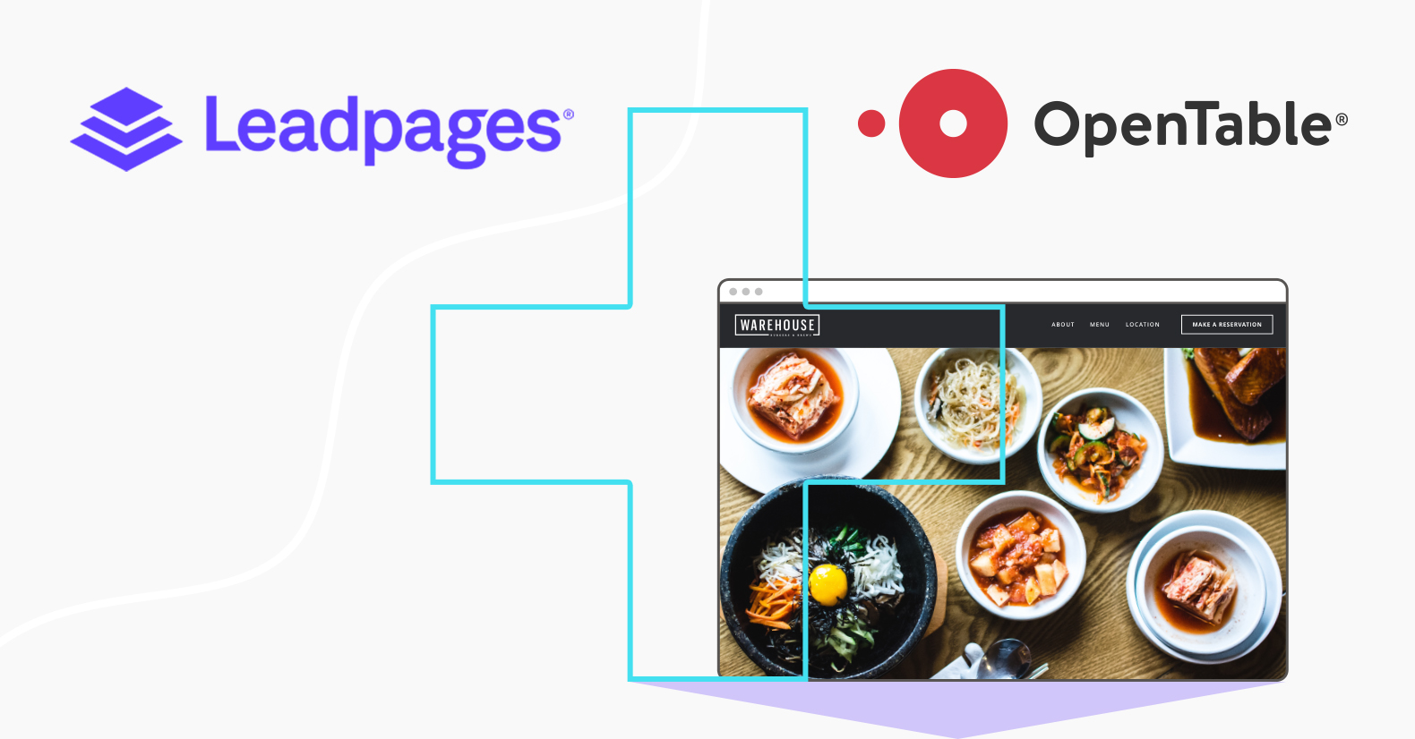 Leadpages and OpenTable feature release