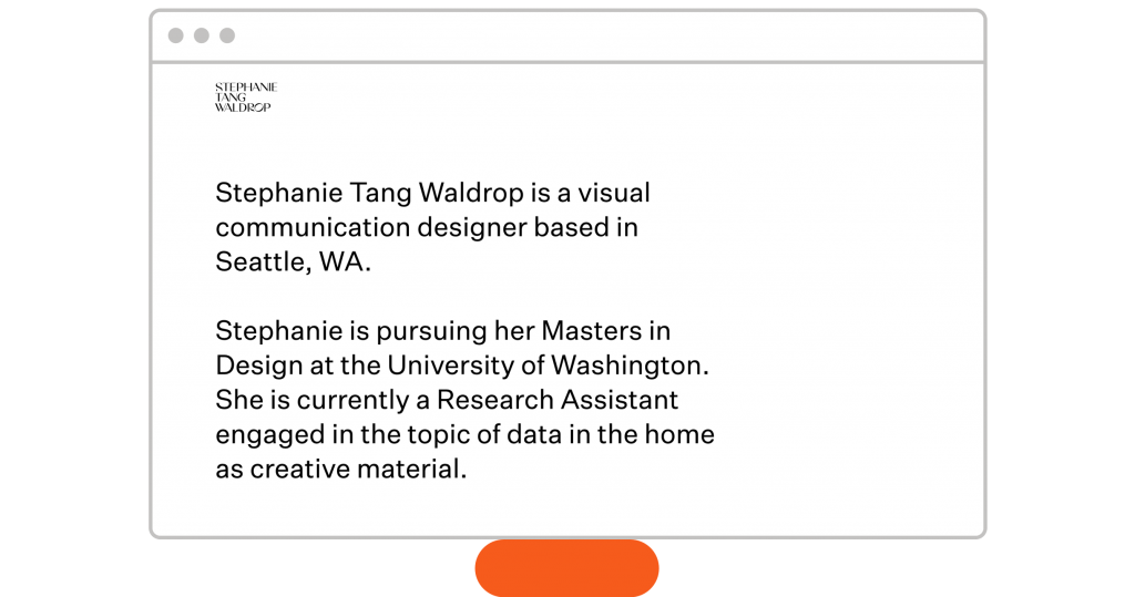 homepage design Stephanie Tang Waldrop design portfolio