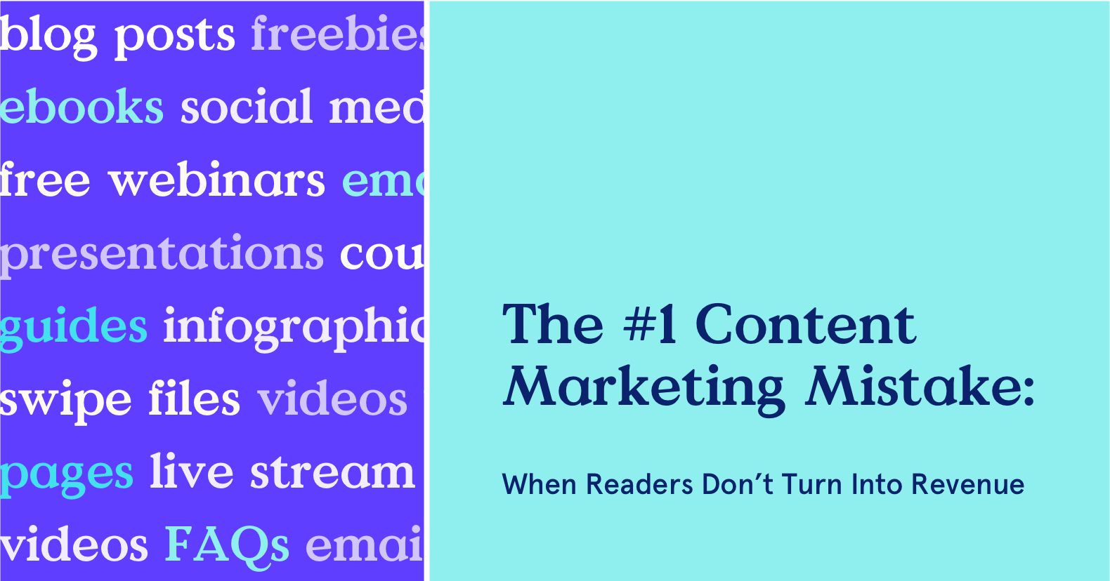 Are they reading your content but not buying?