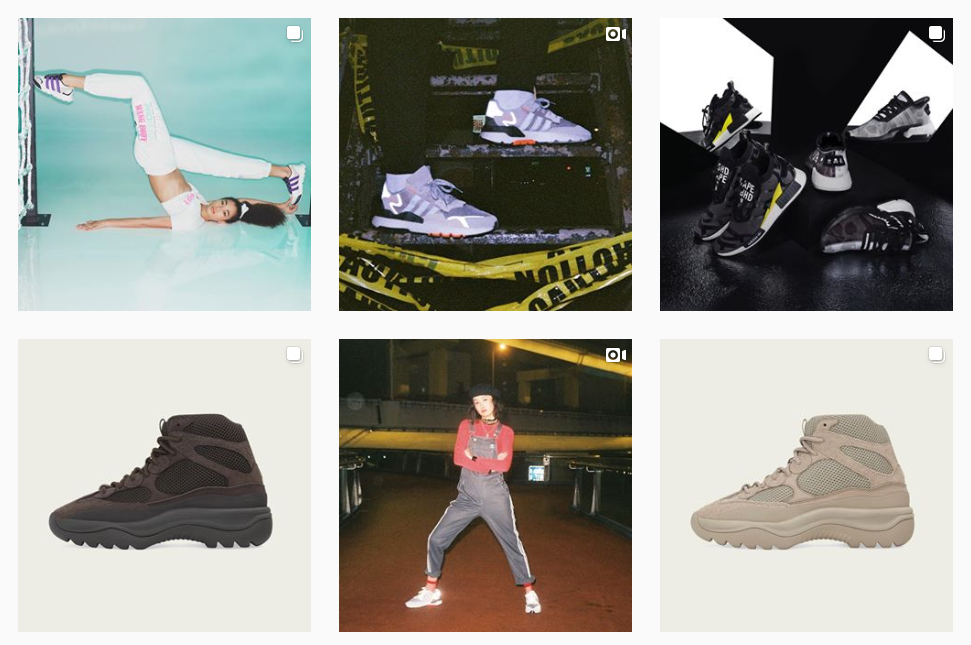 Adidas Shoes–Showcase your products to help get leads and sales from Instagram.
