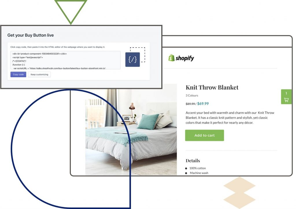 Add an HTML Buy Button to Integrate Shopify with Leadpages