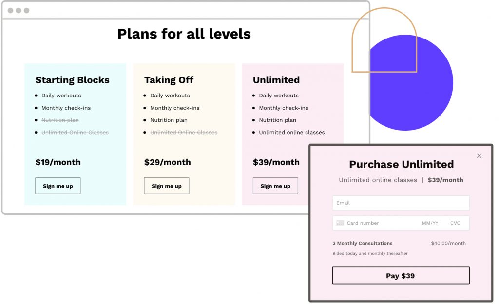 Leadpages Checkouts