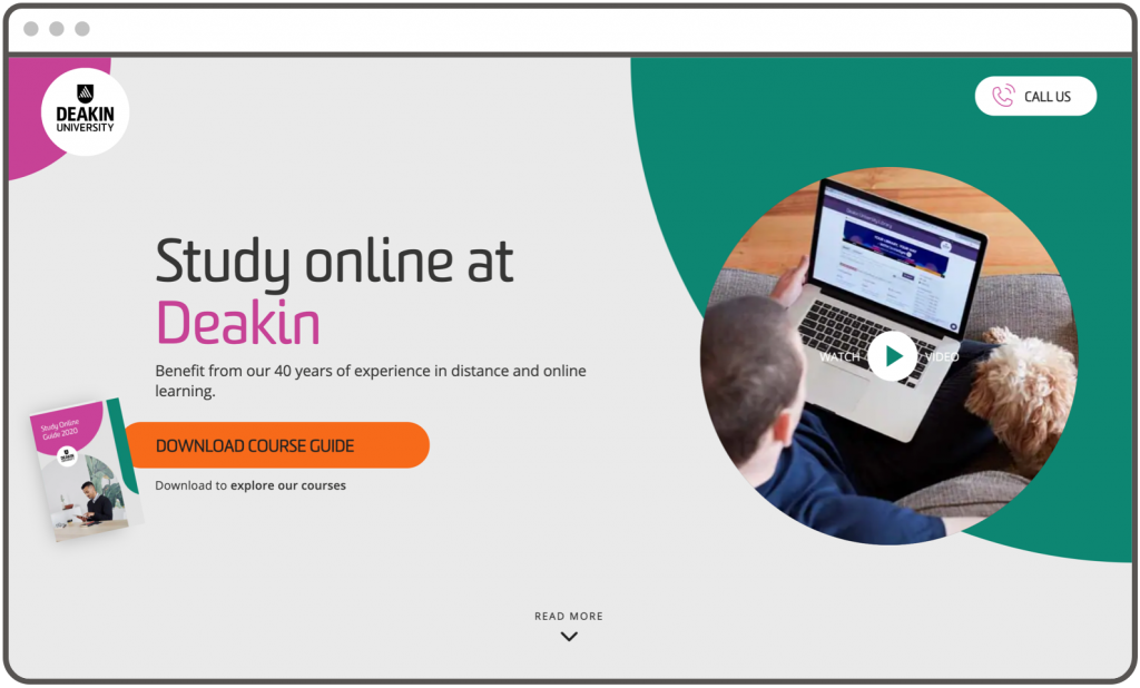 Deakin University Website