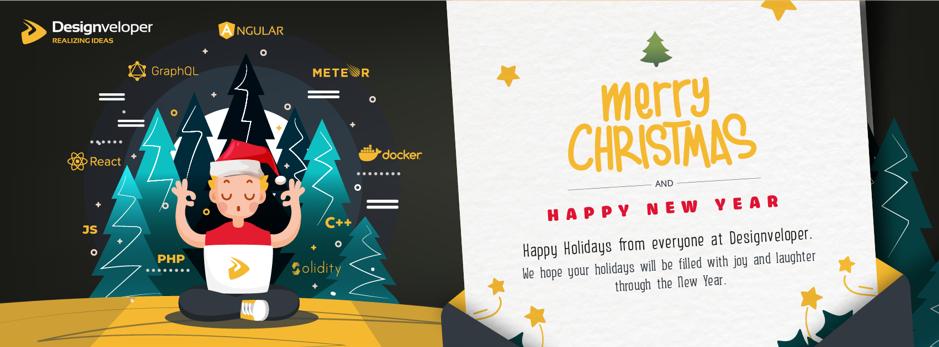 Facebook cover photo example seasonal from Designveloper