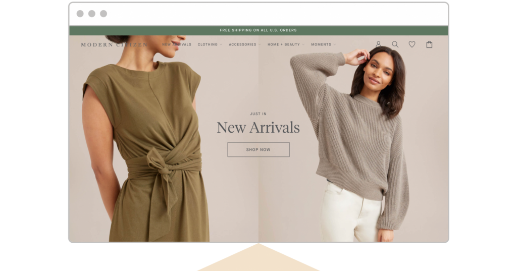 web design trends 2021 pastel and earth-tone palettes