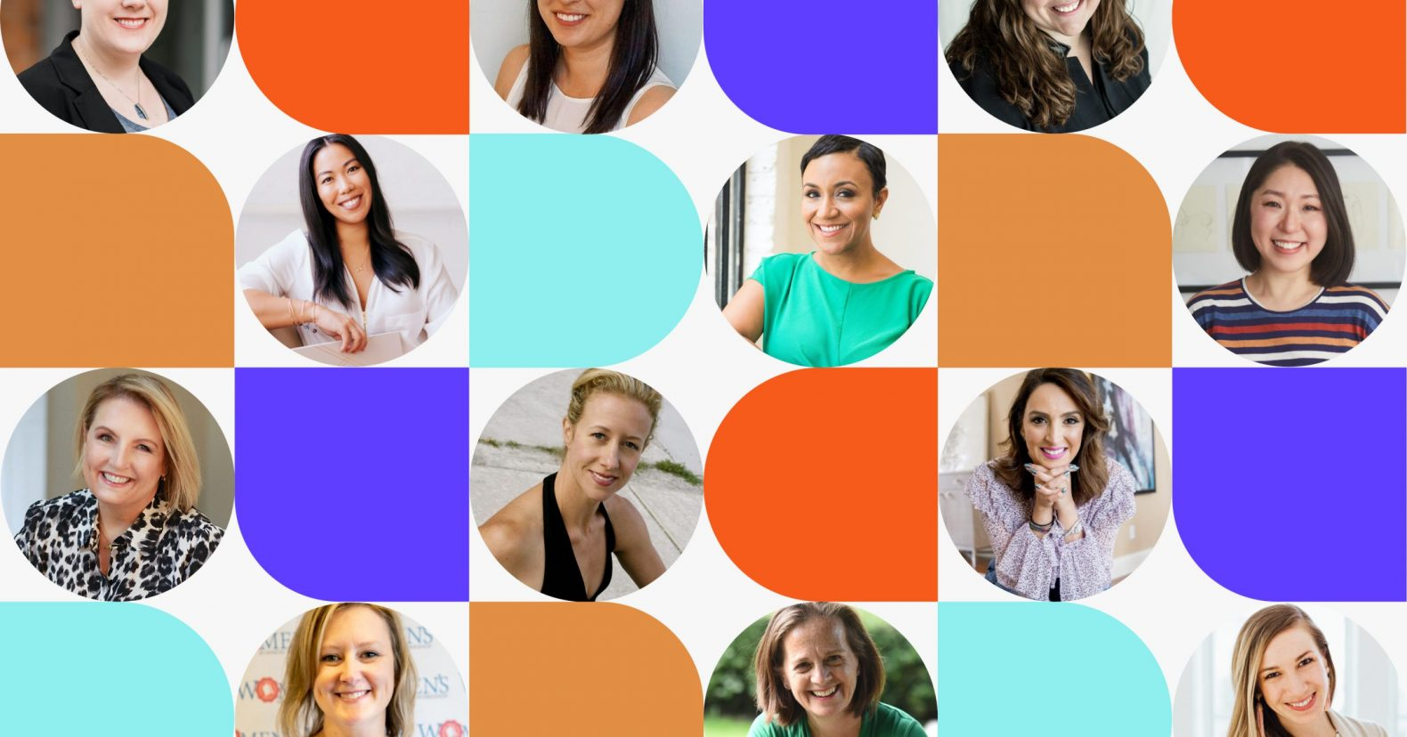 International Women's Day headshots of Leadpages customers and employees