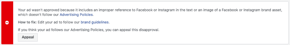 Facebook Ad Disapproved? Get the Definitive Guide