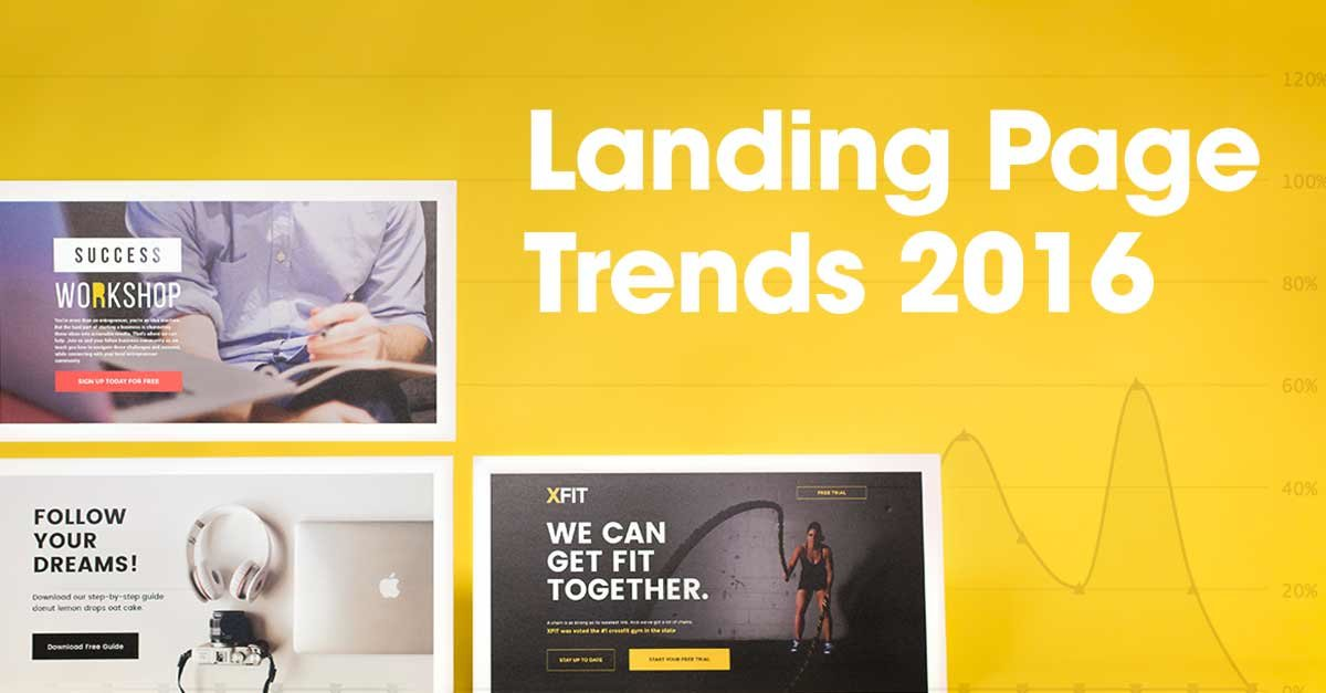 Landing Page Trends from Rising Companies, Designers, and 42,000+ Entrepreneurs