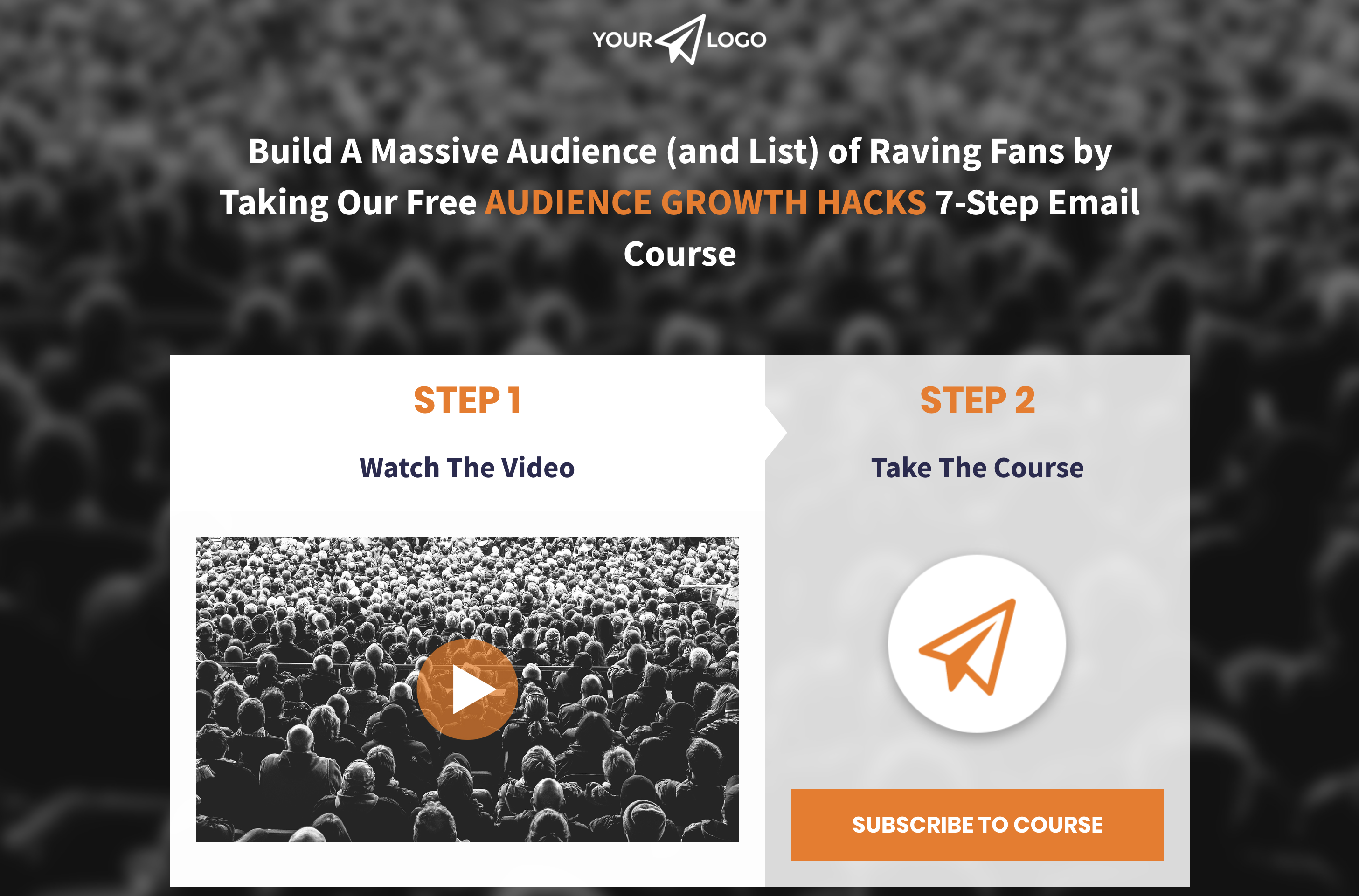 eCourse / Online Training Landing Page Thumbnail