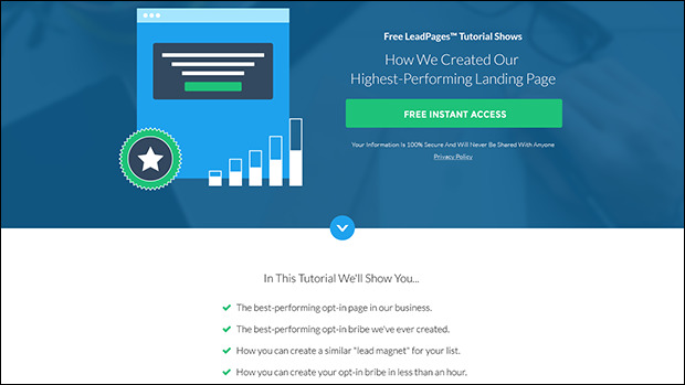 The Best PPC Advertising Landing Page Template We've Seen Preview