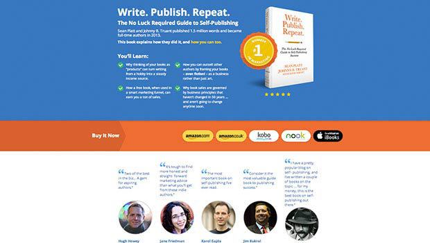 The Perfect Landing Page For Digital Book Sales Preview