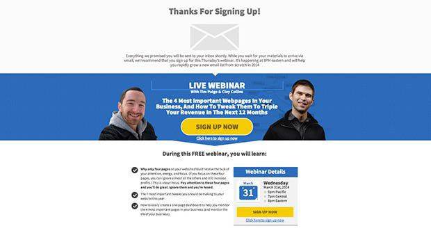 This Next Generation Landing Page Template Preview