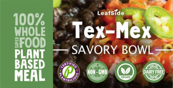 Tex-Mex Savory-Bowl LeafSide