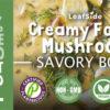 Creamy Forest Mushroom Savory-Bowl LeafSide