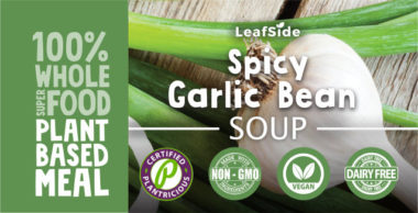 Spicy Garlic Bean Soup LeafSide