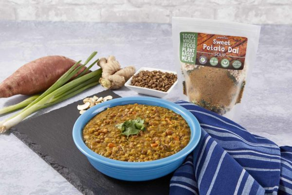 Sweet Potato Dal Soup