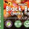 Black Bean Chunky Tomato Soup LeafSide