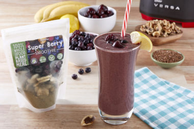LeafSide Super berry Smoothie