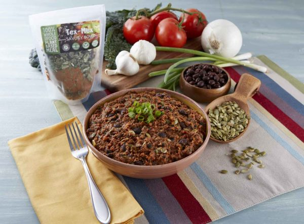 LeafSide Tex Mex Savory Bowl with pack