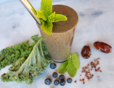 Mint Chip Smoothie B