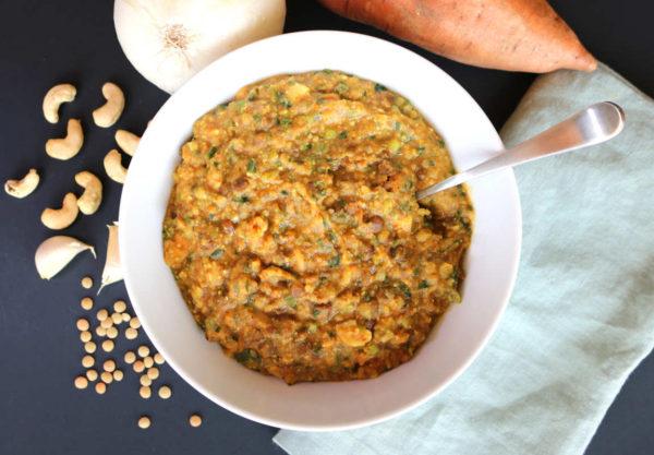 Sweet Potato Dal Soup B