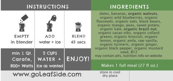 LeafSide Kale Krush Smoothie