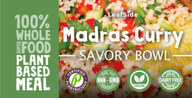 Madras Curry Savory-Bowl LeafSide