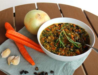 Spicy Garlic Bean Soup B