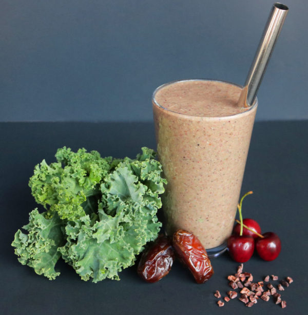Cacao Cherry Smoothie A