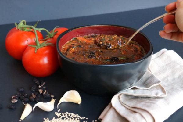 Black Bean Chunky Tomato Soup C