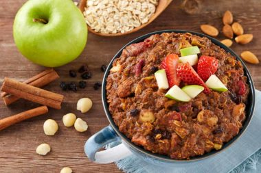 LeafSide Apple Cinnamon Crunch Sweet Bowl