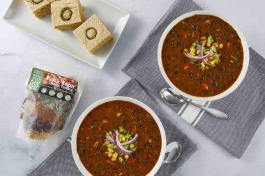 Black Bean Chunky Tomato Soup Bowl