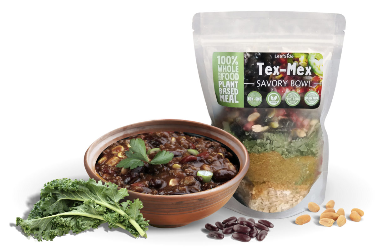 LeafSide Savory Bowl Tex Mex