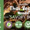 Thai Veggie Noodle LeafSide
