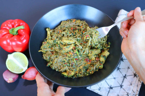 Thai Veggie Noodle Savory Bowl D