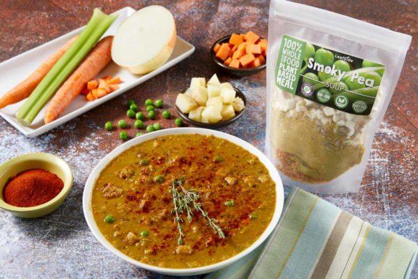 LeafSide Smoky Pea Soup 1